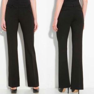 Tahari Black Sateen Pants
